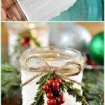 12 Amazing Festive DIY Ideas for Mason Jar Lighting 1