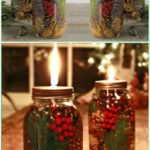 12 Amazing Festive DIY Ideas for Mason Jar Lighting 7