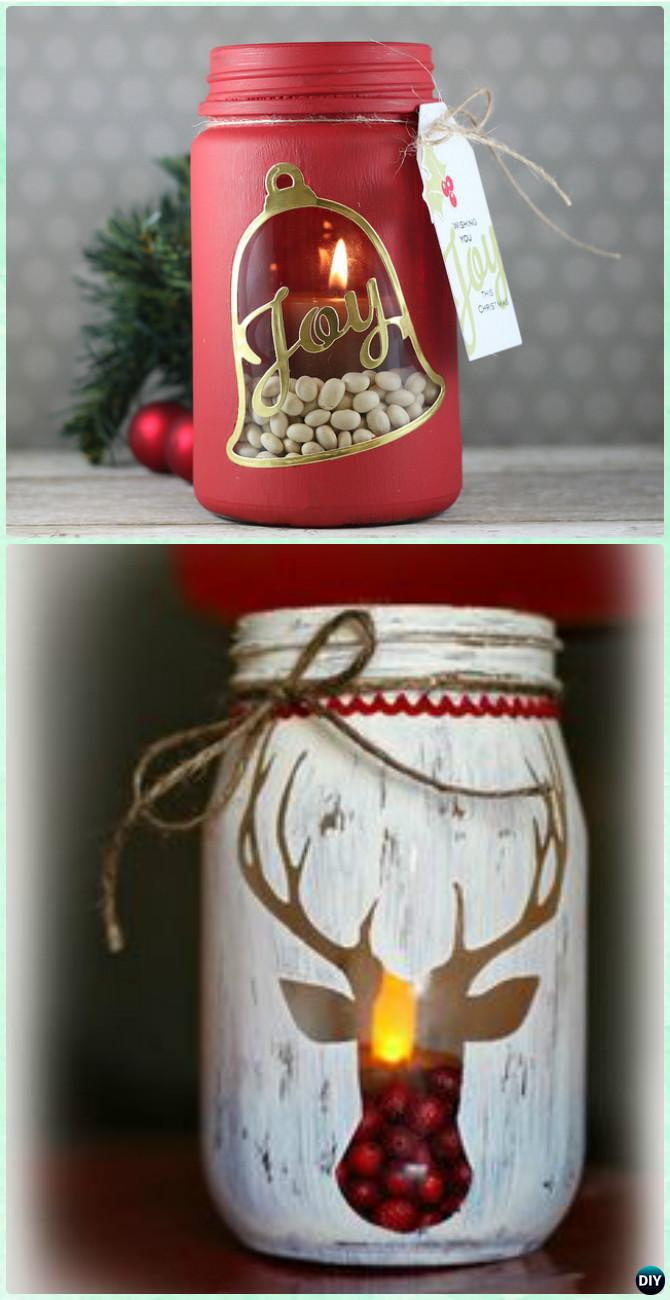 12 Amazing Festive DIY Ideas for Mason Jar Lighting 9
