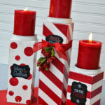 25 Amazing Red and White DIY Christmas Decor Ideas 25