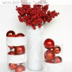 25 Amazing Red and White DIY Christmas Decor Ideas 4