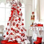 25 Amazing Red and White DIY Christmas Decor Ideas 7