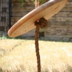 5 barrel lid rope swing