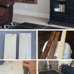 11.DIY Huge Chalkboard