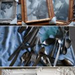 12.DIY Silverware Artwork