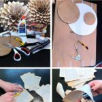 2.DIY Paper Flower Medallion