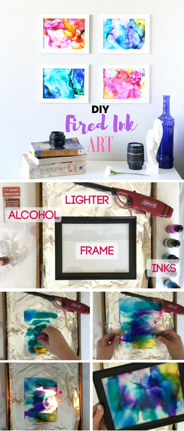 8.DIY Fired Ink Ark