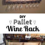 15.DIY Pallet Wine Rack