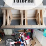 17.DIY Bike Rack