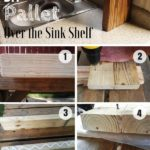 7.DIY Pallet Over the Sink Shelf