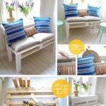 8.DIY Magic Storage Pallet Sofa