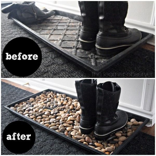 1. DIY Door Mat