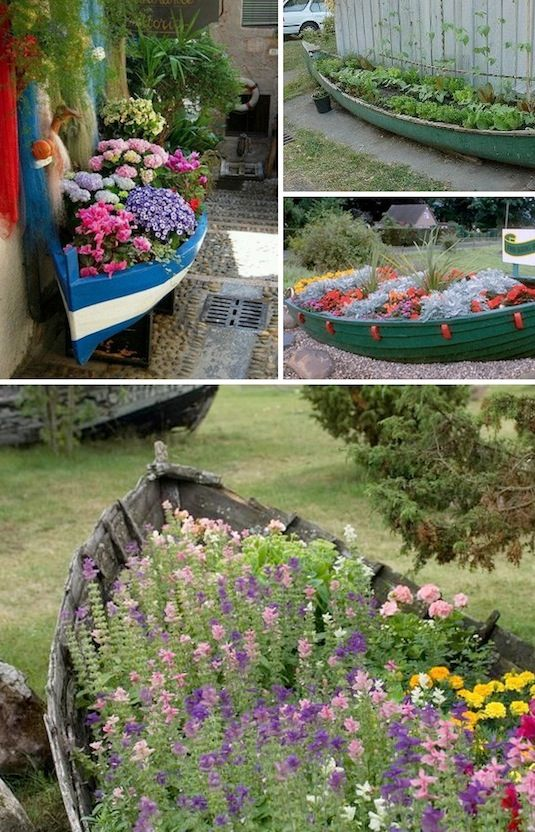 1.Garden Boat