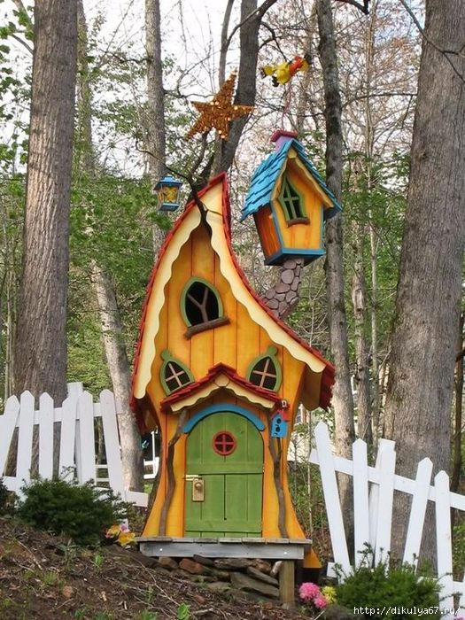 10.Colorful Playhouse