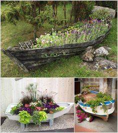 10.Garden Boat