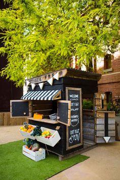 13.Vegetable Kiosk Playhouse