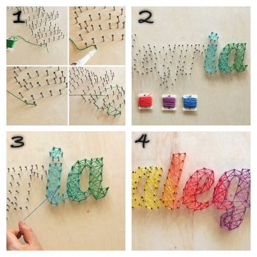 16 Easy DIY String Art For Great Wall Decor 2