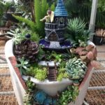 3.Fairy Garden for Small Backyards
