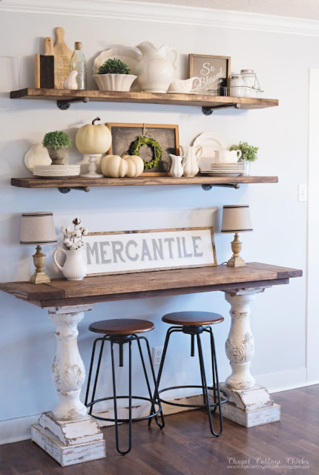 4. DIY Shelves