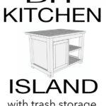 6. DIY Kitchen Island Cart