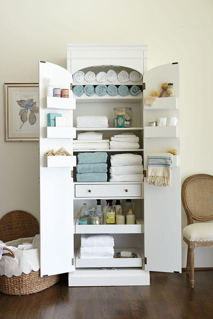 15 Classy Bathroom Hacks 1 Multi Shelved Cabinet Diy Home Diyncraftshome Com