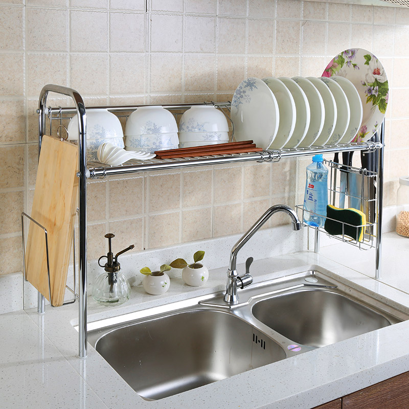 1. Sink shelves