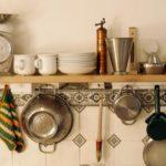 3. Shelves and hooks