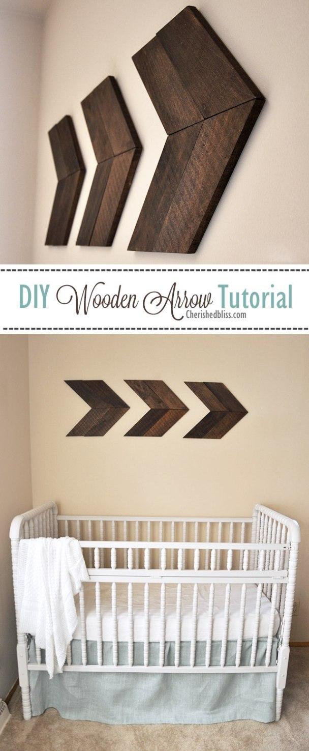 9.DIY Wooden Arrow