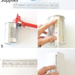 14.DIY Faux Leather Pencil Cup