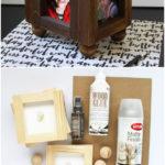 3.DIY Wood Photo Frame