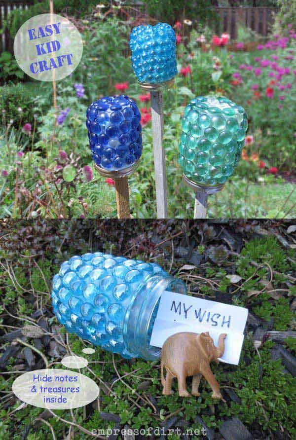 4.Garden Treasure Jars