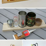 4.Gold Pencil Holder