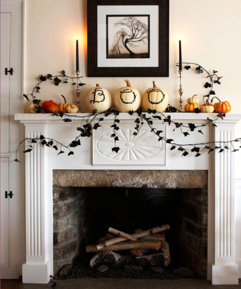 10.Fireplace Display