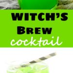 12. Witch's Brew Cocktail