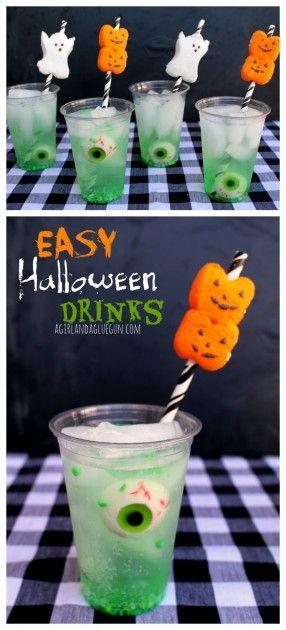 13. Easy Halloween Drinks