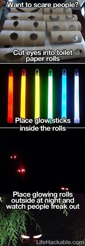 14. Glowing Eyes