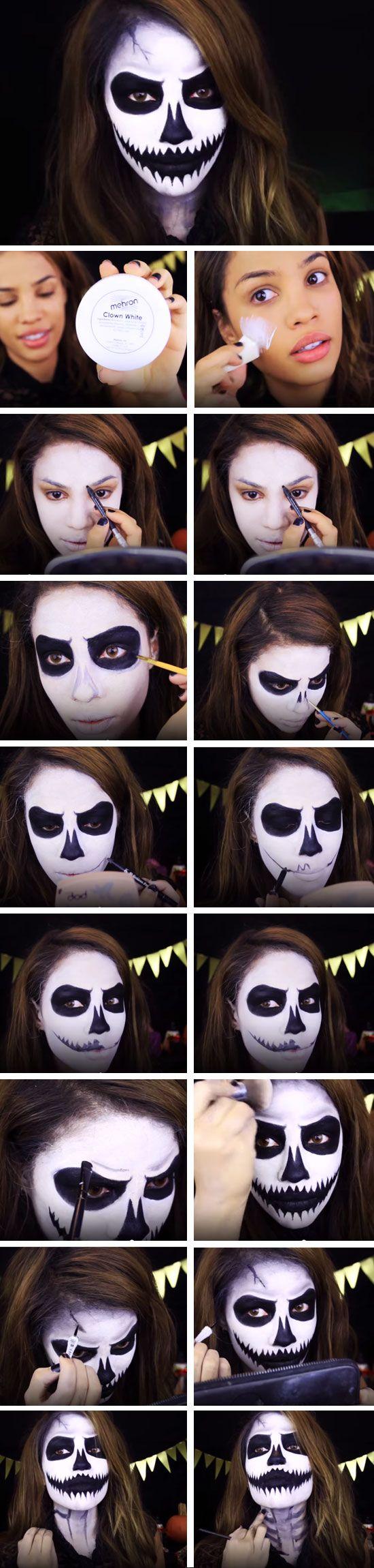2. Scary Skeleton