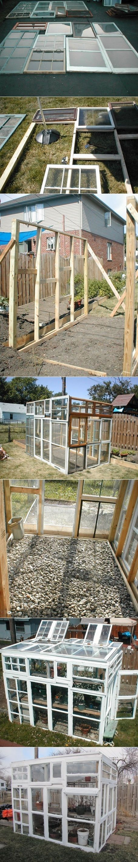 2. Square Greenhouse