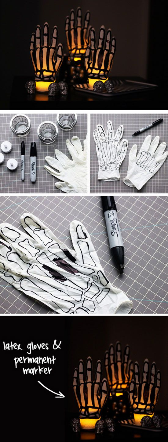 3. Latex Glove Lights
