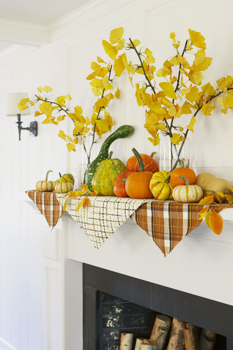 3.DIY Pumpkin Top