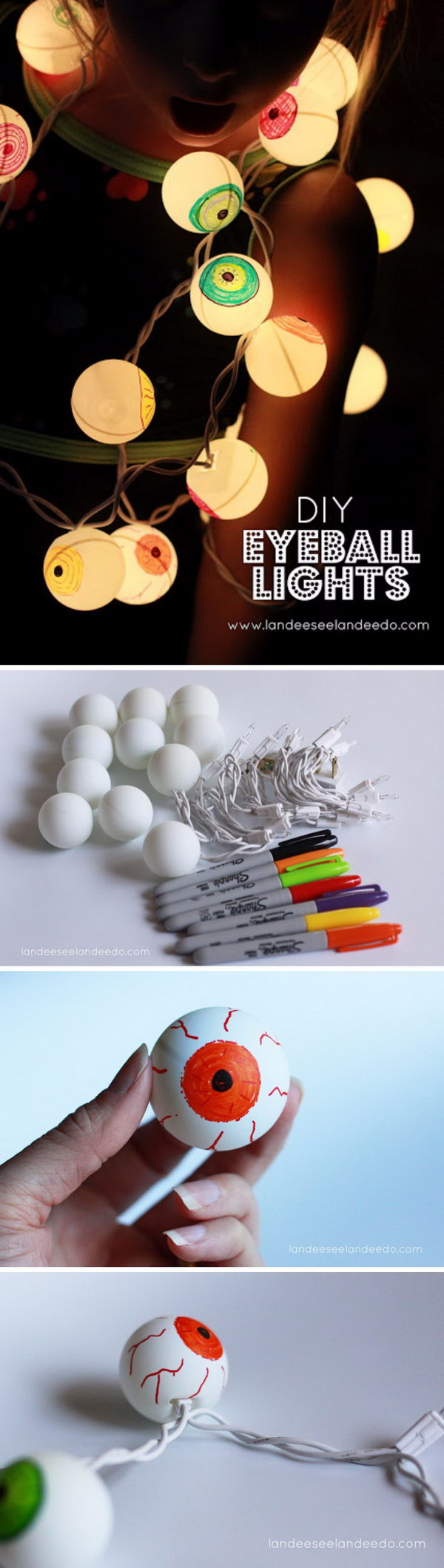 6. DIY Eyeball Lights
