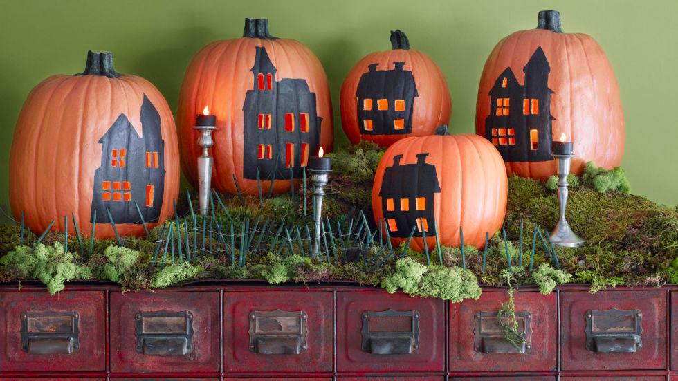 6.Halloween Cute Houses