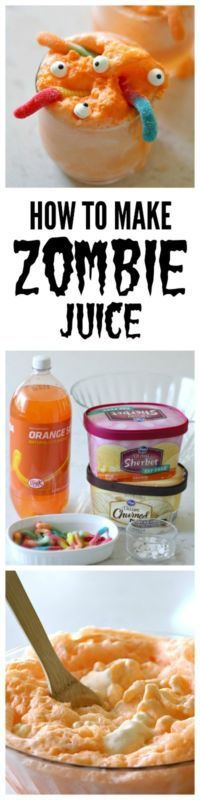 7. How to make Zombie Juice