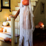 7.Halloween Staircase Doll