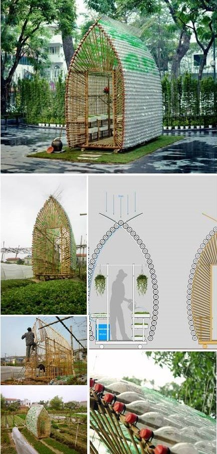 9. Bullet-shaped Greenhouse