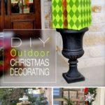 10. DIY Outdoor Christmas Decoration