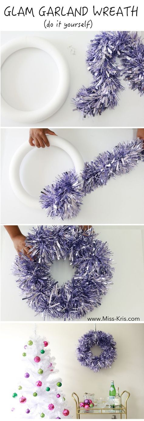 11. Glam Garland Wreath