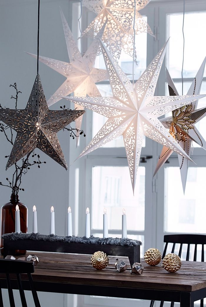 11.DIY Jul Star Ornaments