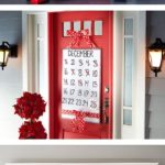 12. Christmas Decorations on Doors