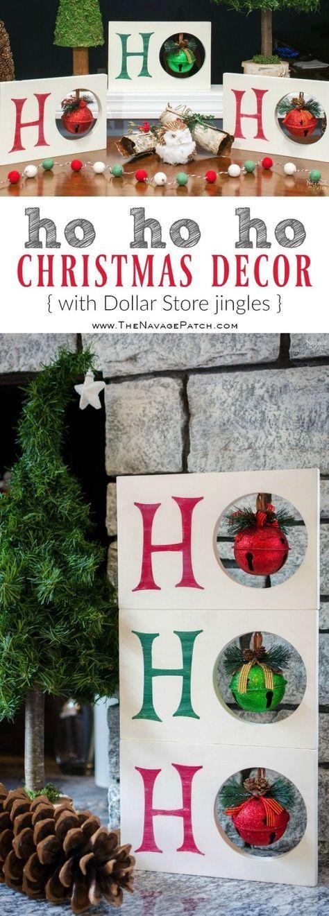 15. Ho ho ho Christmas Decor